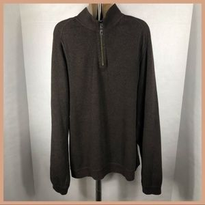 TOMMY BAHAMA 1/2 ZIP SWEATER